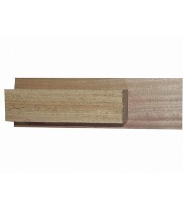 African mahogany neck and heel block