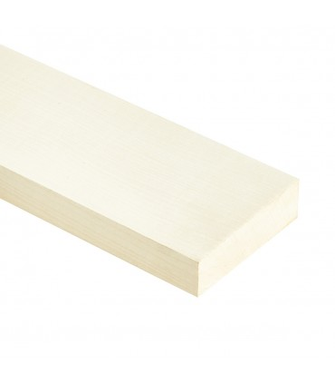 """Onafgewerkt Maple neck for """"neck trough"""" guitar 1100x80x50mm"""