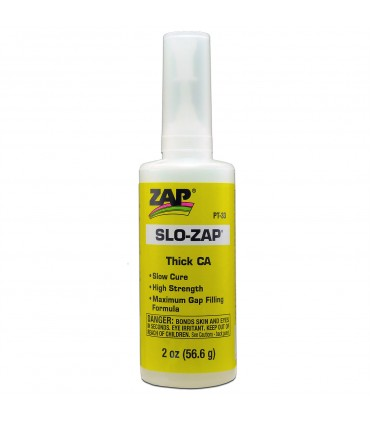 SLO- ZAP CA- (Yellow Label) Thick Viscosity - 2 Oz.