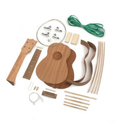 Soprano mahogany ukulele kit