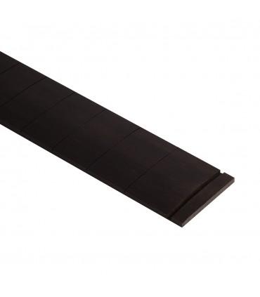 Slotted fretboard ebony 650 scale