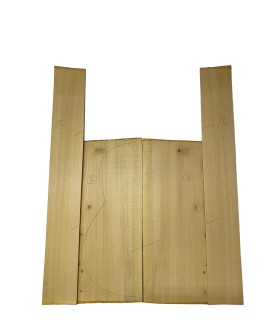 Spaans Cypresse zij- en achterblad set 12
