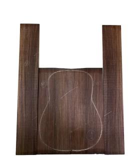 Indische Spalandholz Seite und Rückenblatt Set 58 für Akustikgitarre