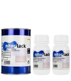 NitorPOL 2K Lack glänzend 1 Liter + 500 ml. Meeräsche