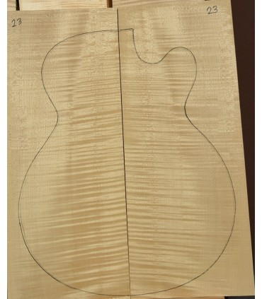 Maple back and sides set AA