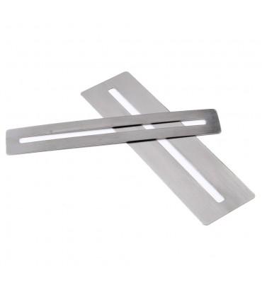 Stainless steel fingerboard protector