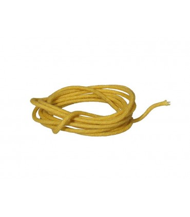 Vintage copper wire yellow