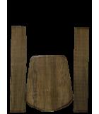 Couverture latérale et arrière